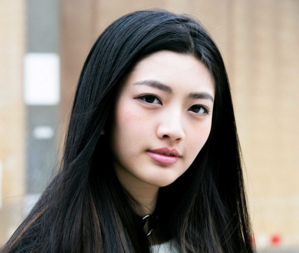 Cabelo do cabelo asiático