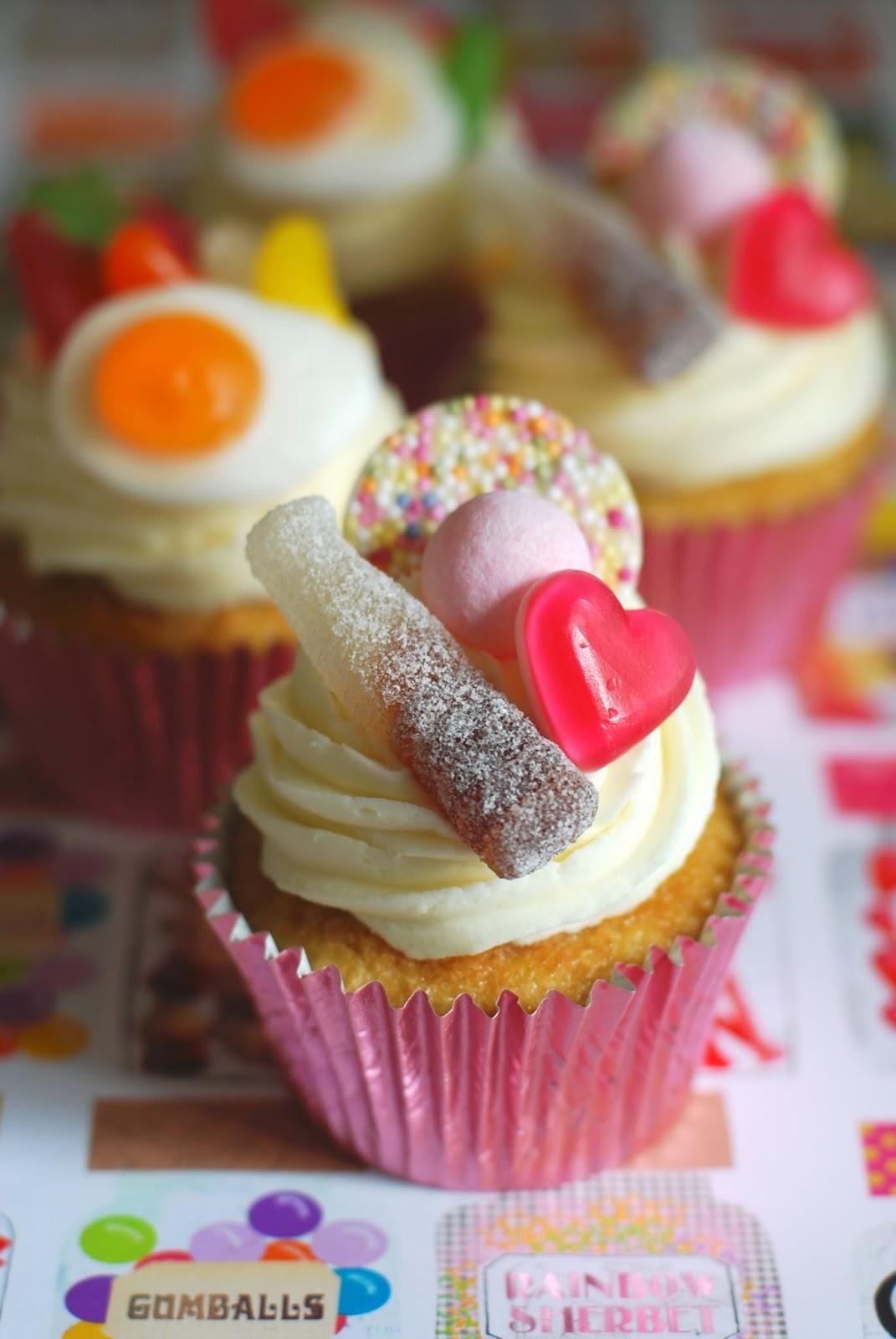 Pick N Mix Cupcakes Afternoon Crumbs