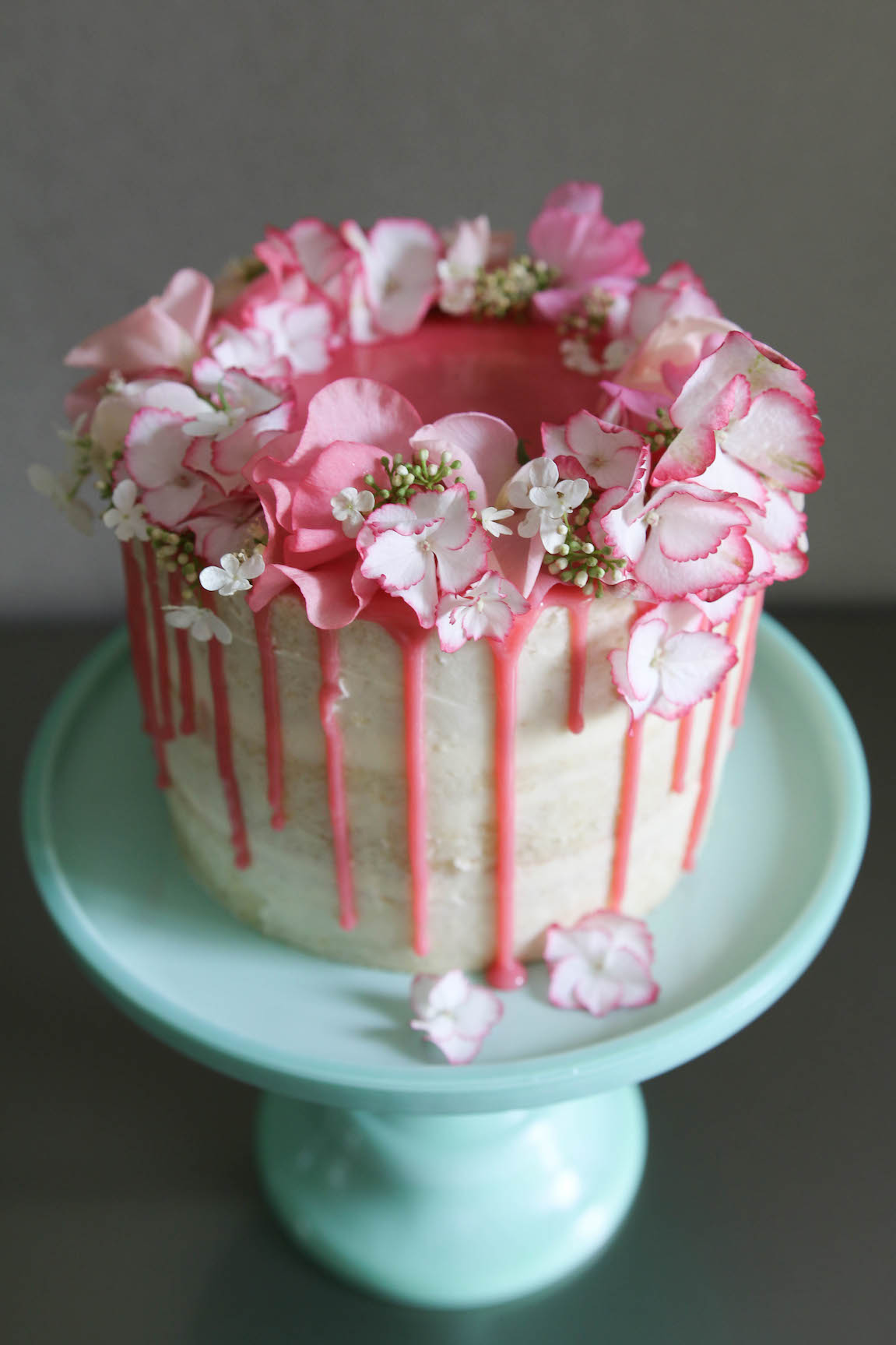 Granny S Hydrangea Cake Afternoon Crumbs