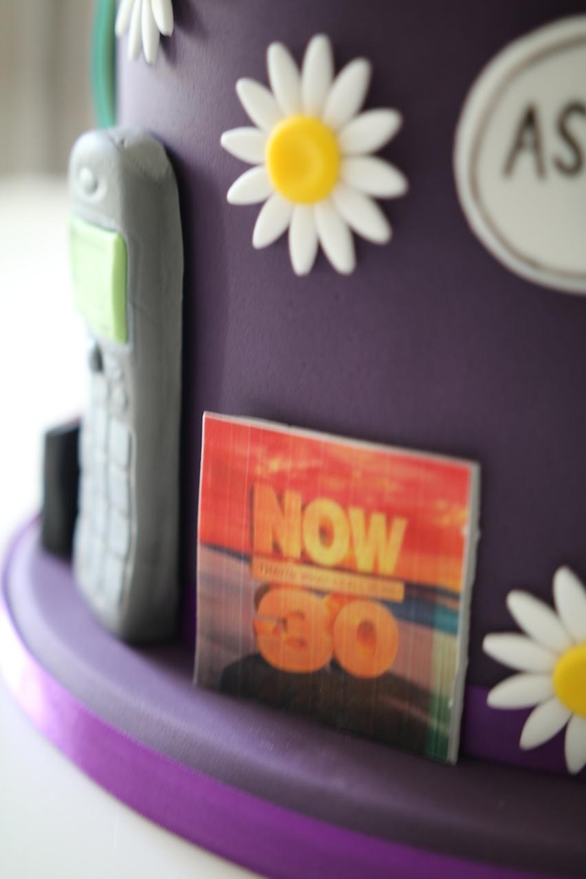 Lauren S 30th Birthday Cake Afternoon Crumbs