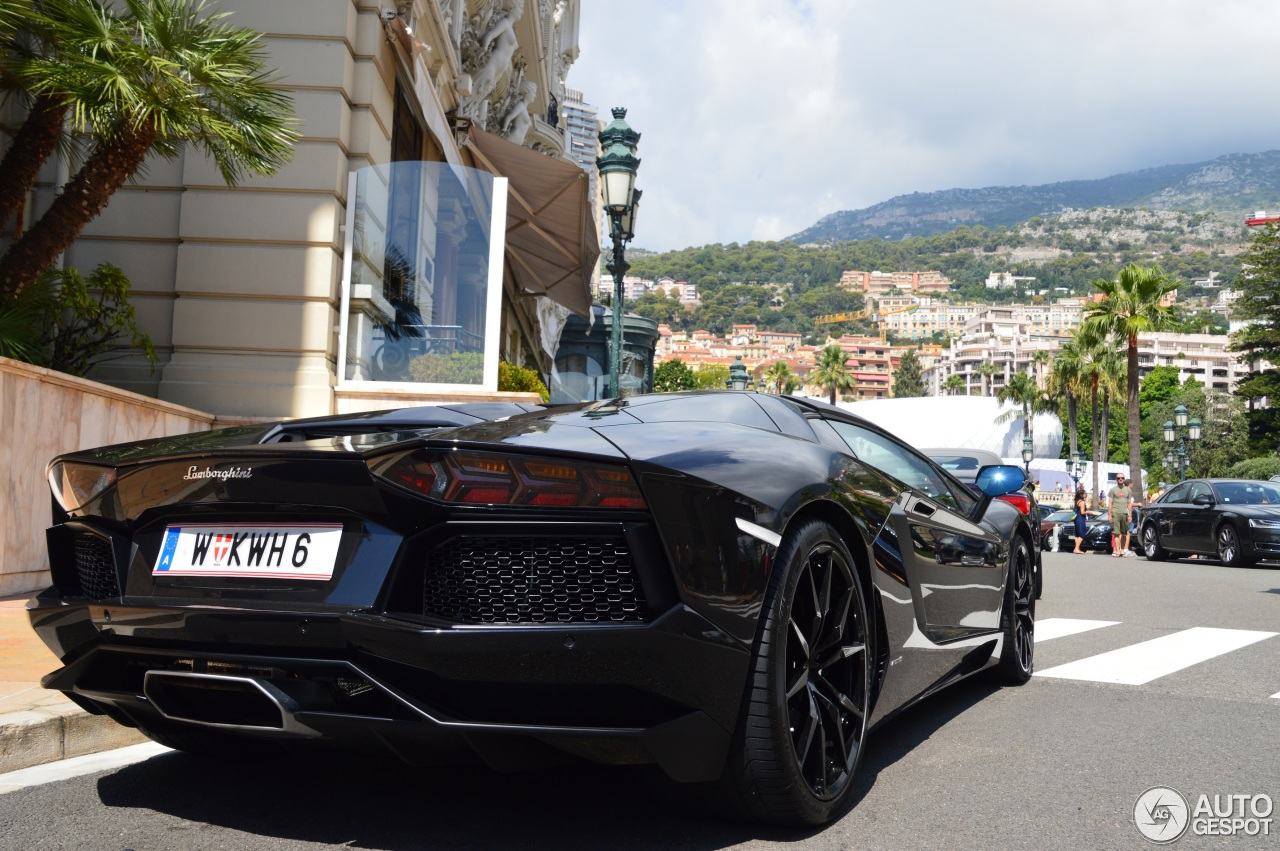 2014 Lamborghini Aventador Roadster Monaco