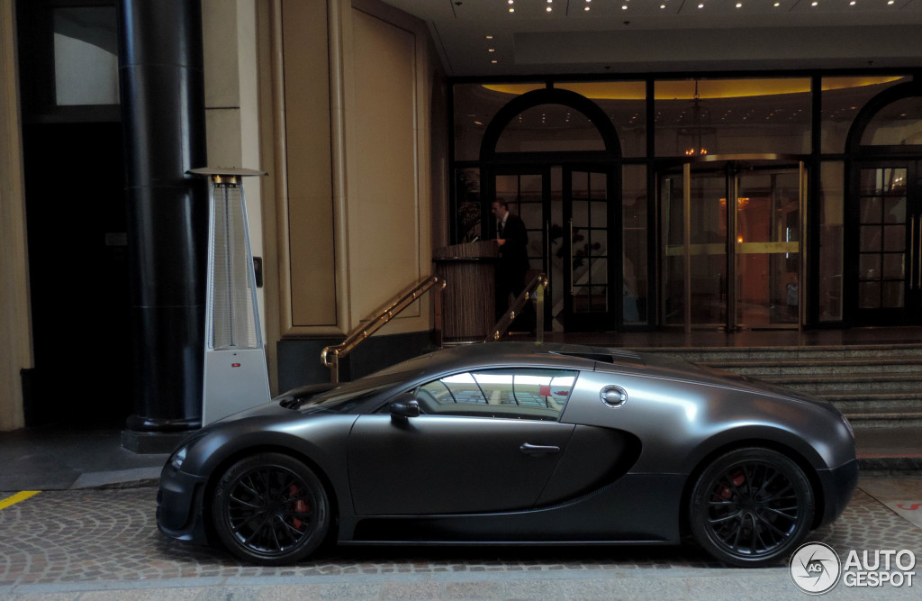 Veyron Chrome Super Sport Bugatti