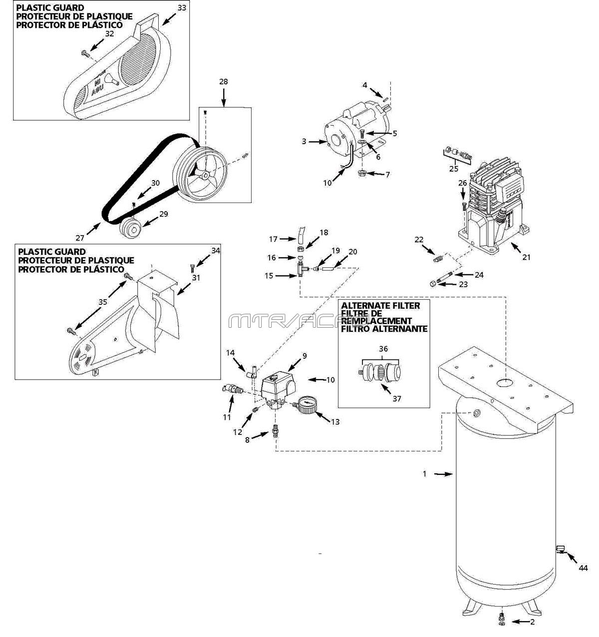 Fancy air pressor t30 wiring diagram image collection wiring