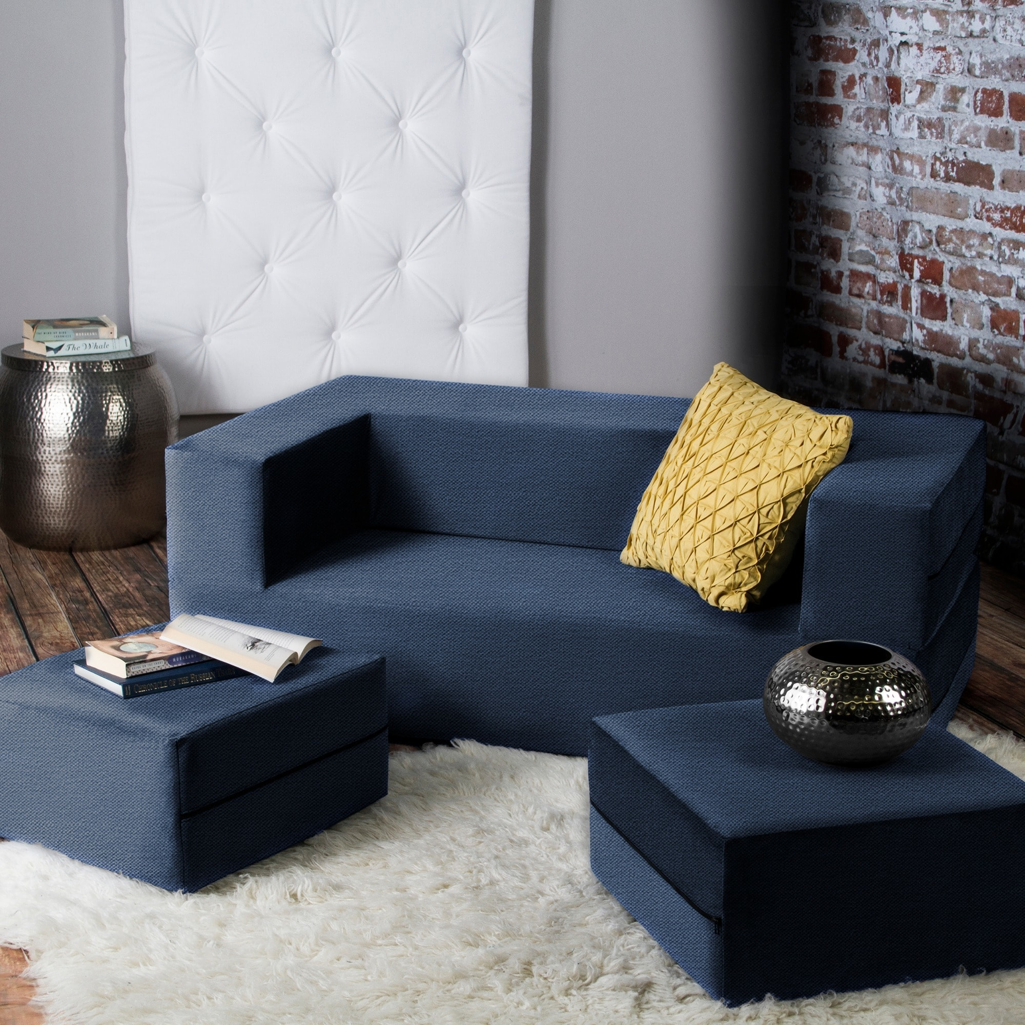 Best Kitchen Gallery: Jaxx Zipline Convertible Queen Size Sleeper Loveseat And Ottoman Set of Loveseat Bed  on rachelxblog.com