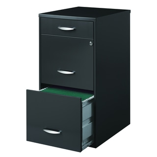 Buy Filing Cabinets   File Storage Online at Overstock com   Our     Porch   Den Barry Square Ferris 3 drawer Charcoal File Cabinet