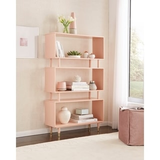 Home Office Furniture   Find Great Furniture Deals Shopping at     Simple Living Margo Mid Century 3 Shelf Bookshelf   59 5 h x 36