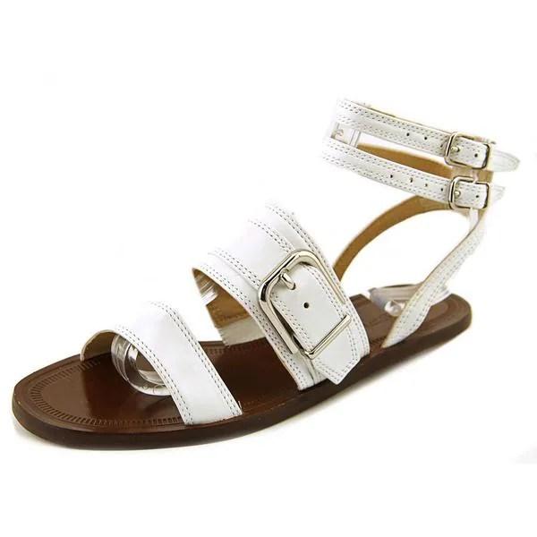 Shop Via Spiga Women S Sedana Leather Sandals Free