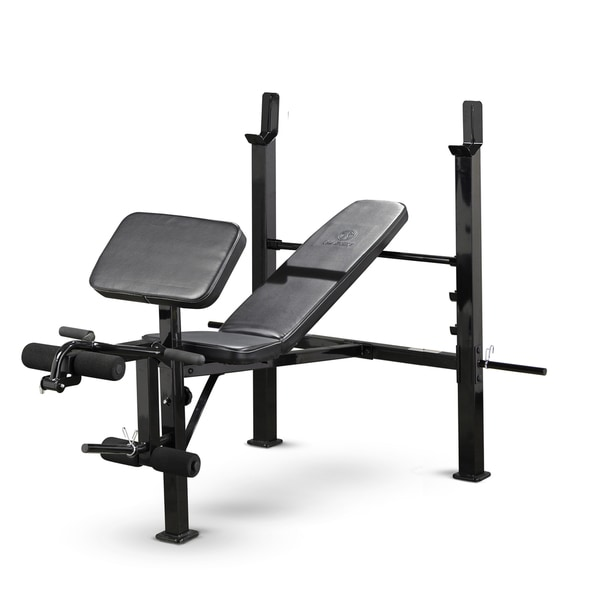 Marcy Standard Weight Bench 18677278 Overstock Com