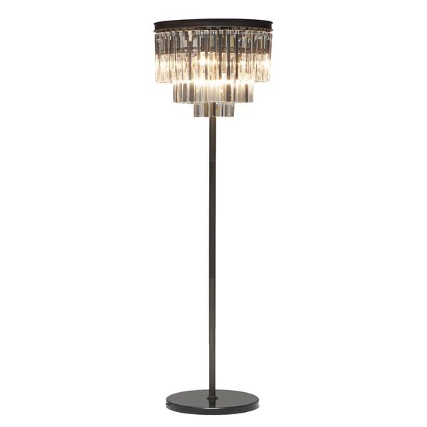 Chandelier Floor Crystal Vintage Lamp