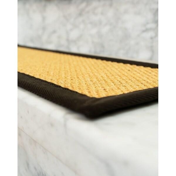 Shop Lowell Sisal Carpet Stair Treads Set Of 13 13Pc 9 X 29 | Sisal Carpet Stair Treads | Oak Valley | Skid Sisal | Stair Runner | Fiber Sisal | Landing Mat