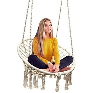 Buy Hammocks   Porch Swings Online at Overstock com   Our Best Patio     Sorbus Hammock Chair Macrame Swing  265 Pound Capacity