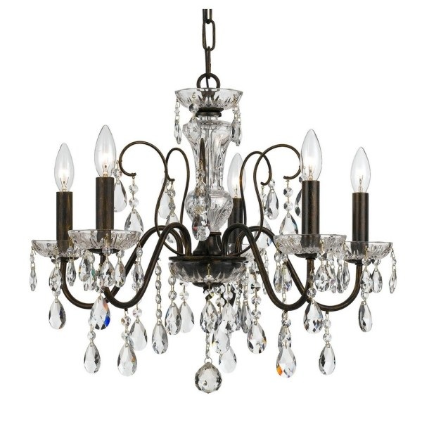 crystal chandelier traditional # 64
