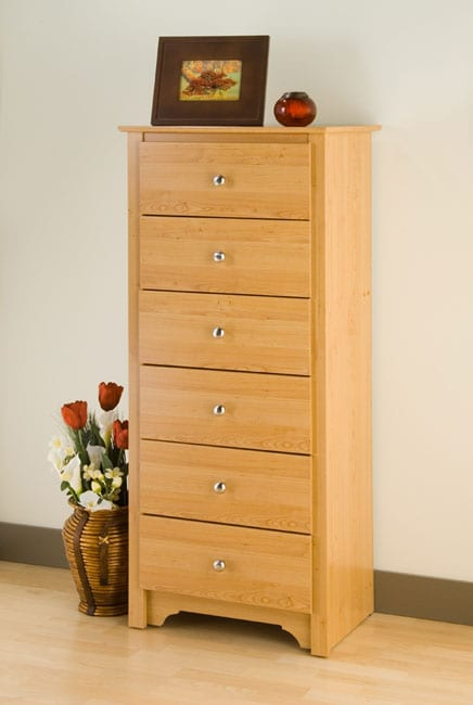 Tall 6 Drawer Chest Dresser