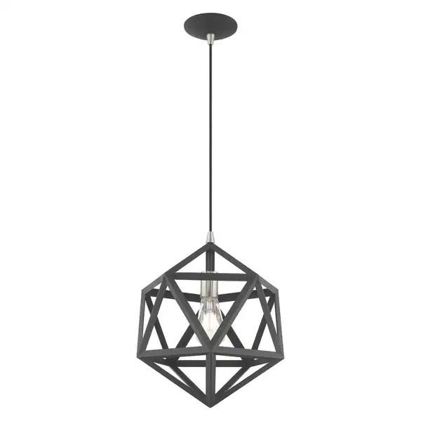 geometric mini pendant light # 84