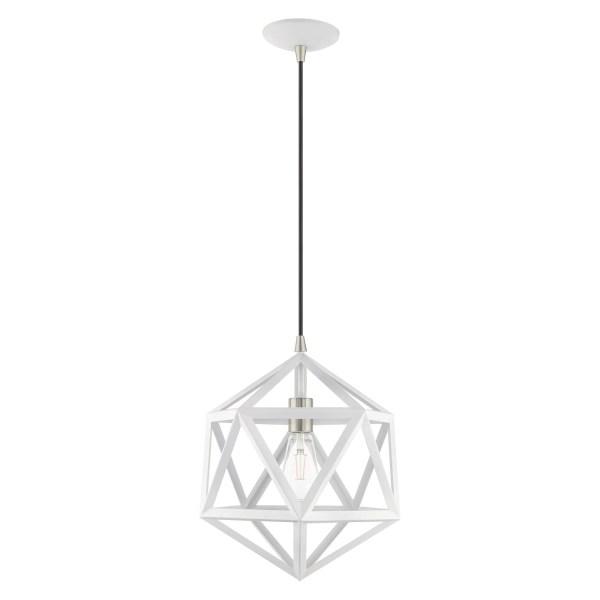geometric mini pendant light # 12