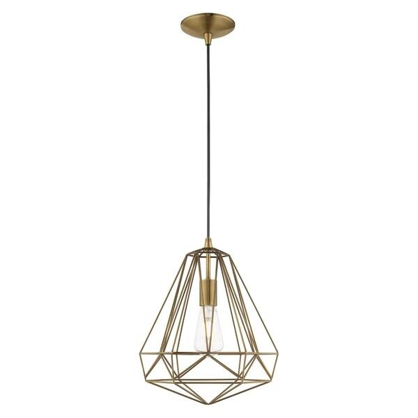 geometric mini pendant light # 42