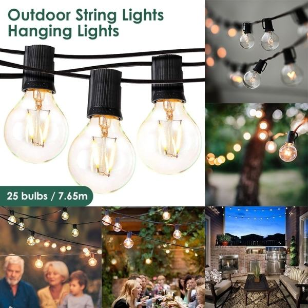 outdoor pendant string lights # 70