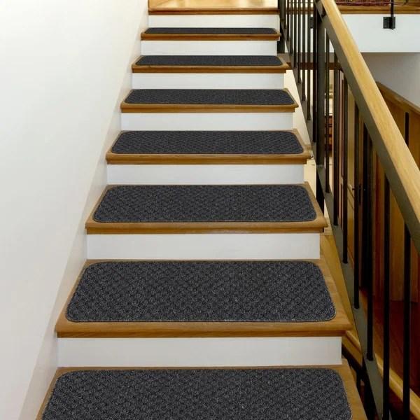 Shop Beverly Rug Indoor Non Slip 8 X26 Carpet Stair Treads | Non Slip Carpet Stair Treads Indoor | Rubber Backing | Decor Rugs | Slip Resistant | Pure Era | Flooring