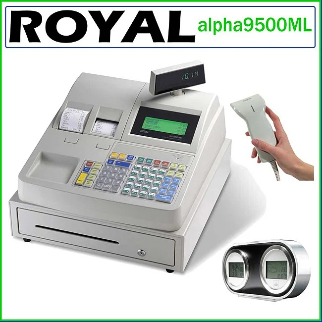 Barcode Cash Registers Scanners