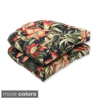 Shop Pillow Perfect Rossmere Outdoor Wicker Loveseat