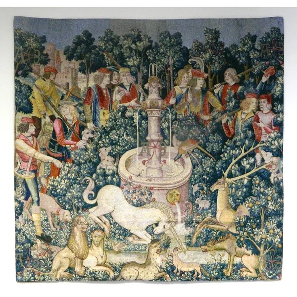 Shop The Hunt Of The Unicorn Wall Tapestry Free Shipping