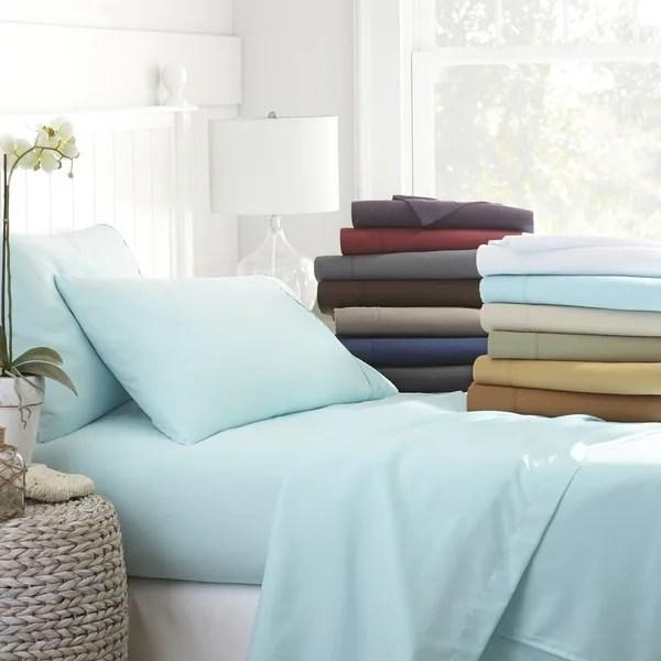 Becky Cameron Luxury Ultra Soft 4-piece Bed Sheet Set ...
