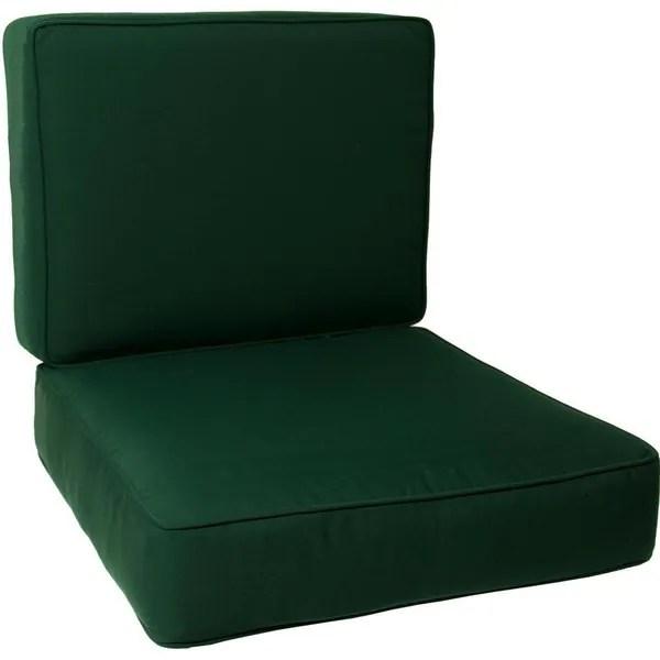 Shop Sunbrella Canvas Forest Green Universal Club Chair