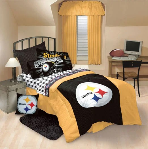 Pittsburgh Steelers Comforter And Sheet Set Free