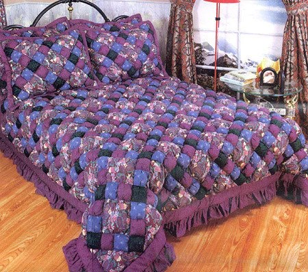 Evening Jewel Puff Quilt Set Free Shipping Today