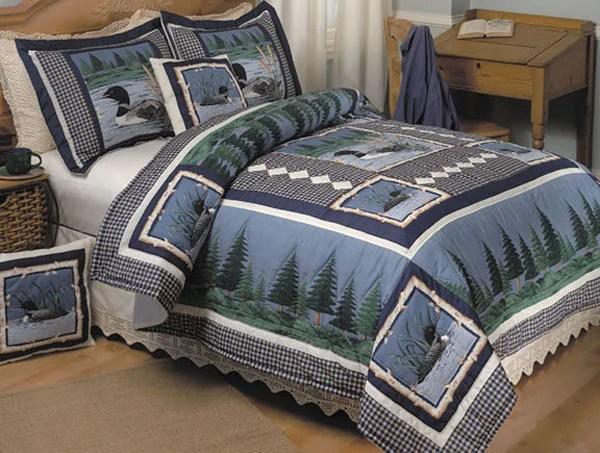 Lazy Loon Handstitched Quilt Set 428515 Overstock Com