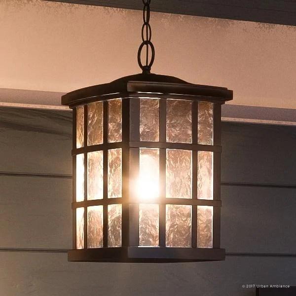 craftsman style outdoor pendant lighting # 2