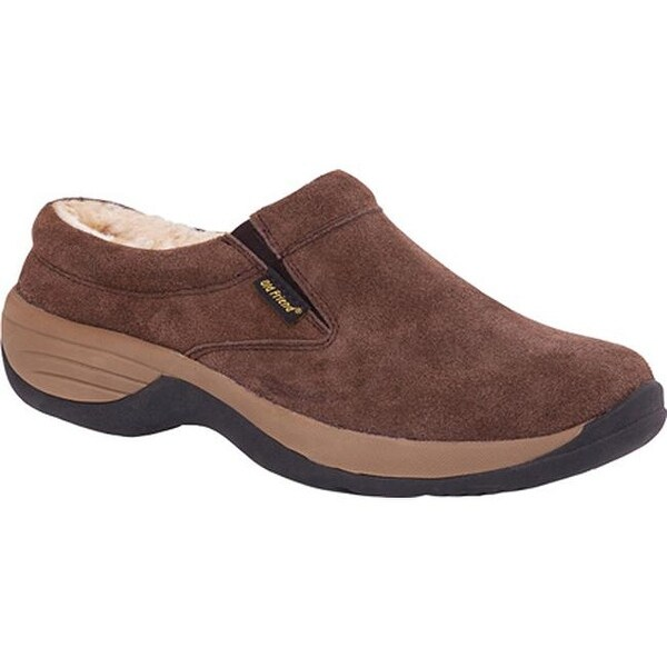 Slippers Mens Clog Chocolate