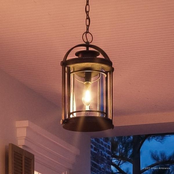 craftsman style outdoor pendant lighting # 5