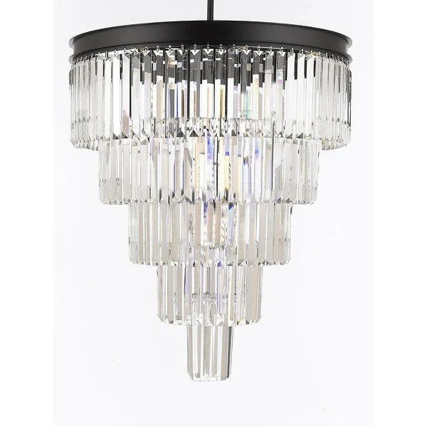 crystal chandelier tiered # 45