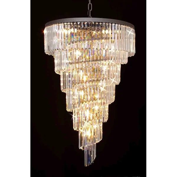 crystal chandelier tiered # 87
