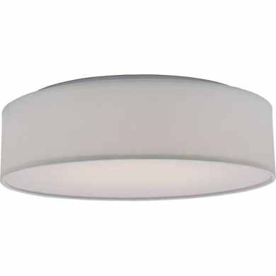 Shop Nuvo Lighting 62 990 Single Light 15  Wide Integrated LED Flush     Nuvo Lighting 62 990 Single Light 15  Wide Integrated LED Flush Mount Drum  Ceiling
