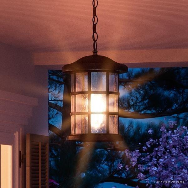 craftsman style outdoor pendant lighting # 18