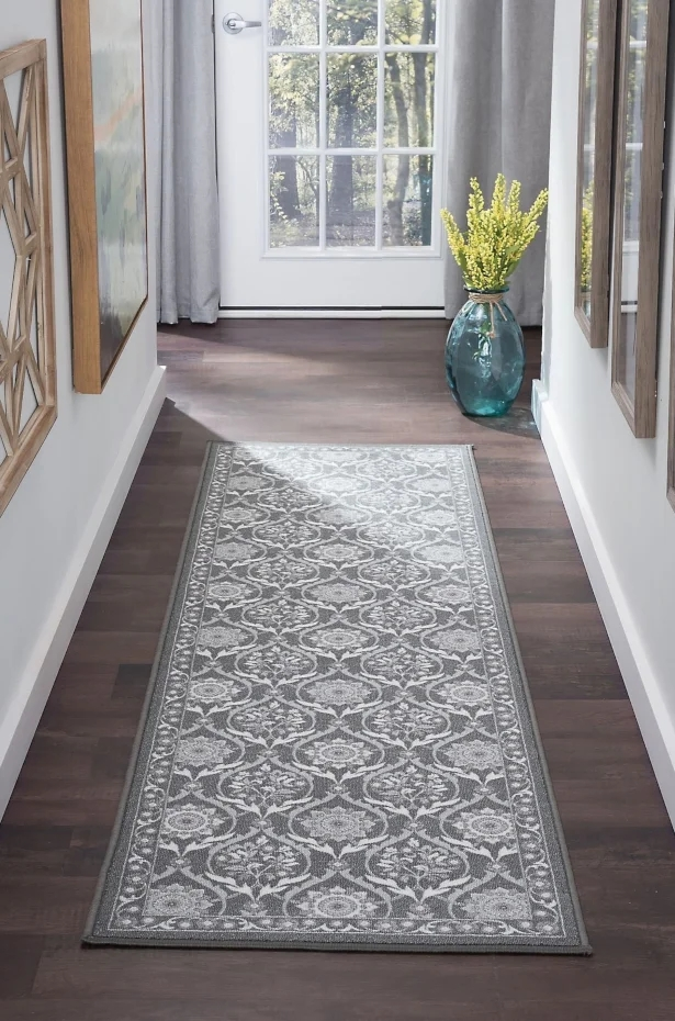 6 Tips On Buying A Runner Rug For Your Hallway Overstock Com | Home Depot Hall Runners By The Foot | Persian Rug | Area Rugs | Flooring | Staircase | Rug Runner