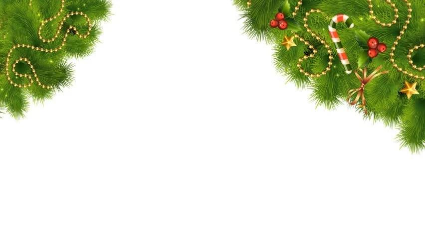 Christmas Lights Borders