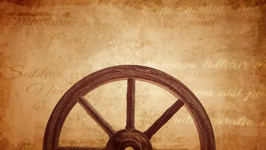 Cartwheel On A Vintage Background Stock Footage Video 100 Royalty Free 10669934 Shutterstock