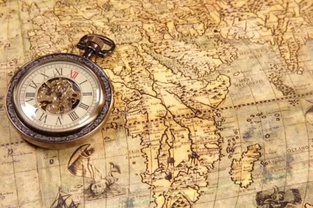 Vintage world map compass path decorations pictures full path royalty free copper compass on antique world map pictures images old map and compass concepts stock photo travel geography image photo free trial bigstock gumiabroncs Gallery