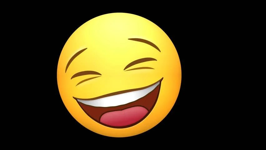 Animated Laughing Smiley Face