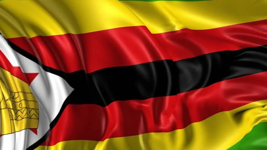 Flag Of Zimbabwe Beautiful 3d Stock Footage Video 100 Royalty Free 5459246 Shutterstock