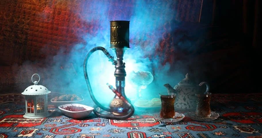 Hookah Hot Coals On Shisha Stock Footage Video 100 Royalty Free 1009225337 Shutterstock