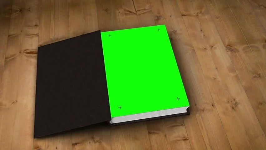 Digital Animation Of Book Opening Stock Footage Video 100