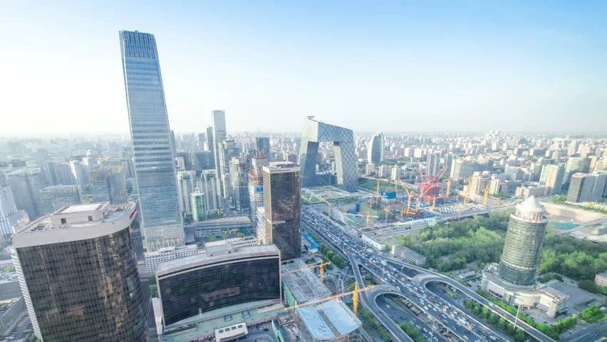 Stock video of time lapse of beijing skyline  x2F time lapse     hd00 16time lapse of Beijing time lapse of Beijing time lapse of Beijing