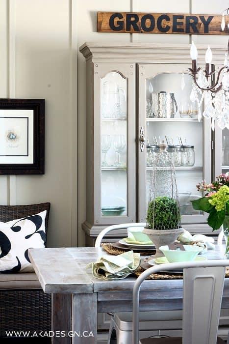 Gray Family Room Decor