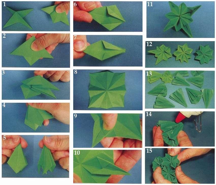 折纸kusudama纸