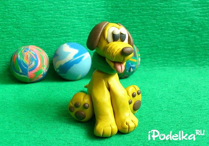 Puppy vàng nhựa