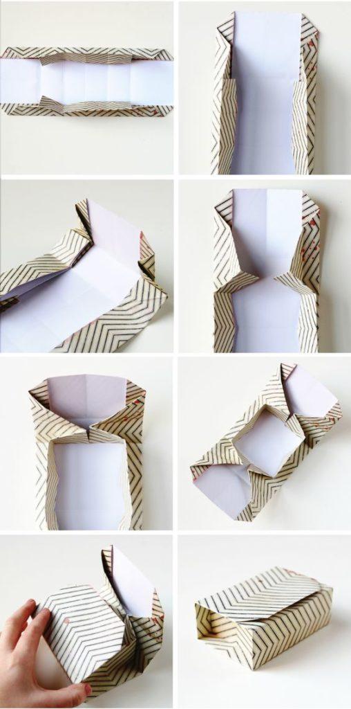 Origami บรรจุภัณฑ์สำหรับของขวัญ
